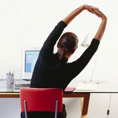 Stretching at Computer